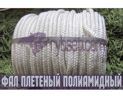 Фал плетеный (полиамидный), ø12,0 мм