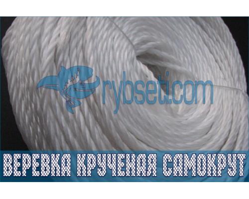 Веревка крученая (полипропиленовая) САМОКРУТ 7,0 мм