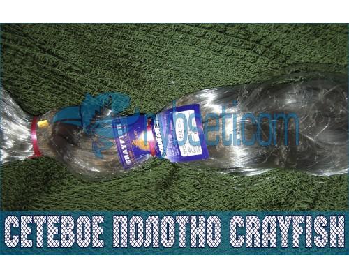 Финское монофиламентное сетеполотно CrayFish 30мм-0,15мм-3,0м-120м
