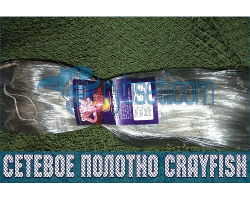 Финское монофиламентное сетеполотно CrayFish 30мм-0,17мм-3,0м-120м