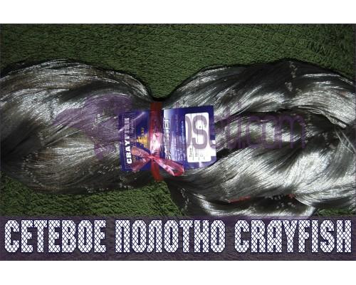 Мульти-монофиламентное сетеполотно CrayFish 35мм-0,15мм*3-45я-150м