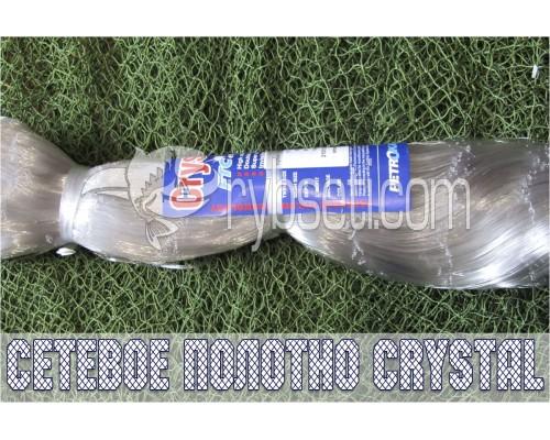 Монофиламентное сетеполотно Crystal (Япония) 50мм-0,17мм-100я-150м
