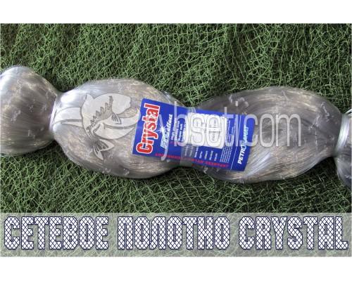 Монофиламентное сетеполотно Crystal (Япония) 70мм-0,20мм-100я-150м