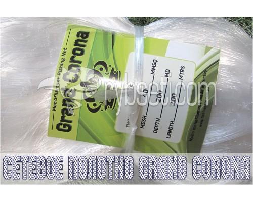 Сетевое полотно из лески Grand Corona (Турция) 40мм-0,15мм-200я-200м
