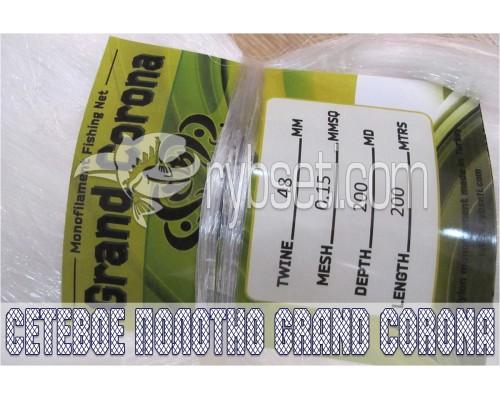 Сетевое полотно из лески Grand Corona (Турция) 48мм-0,15мм-200я-200м