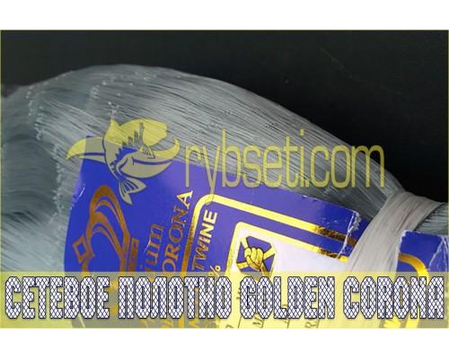 Монофиламентное сетеполотно Golden Corona (Япония) 30мм-0,18мм-75,5я-150м