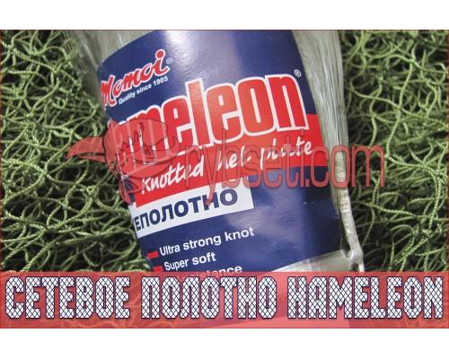 Японское монофиламентное сетеполотно Хамелеон 110мм-0,40мм-50я-150м