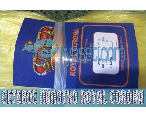 Монофиламентное сетеполотно Royal Corona 30мм-0,18мм-150я-150м