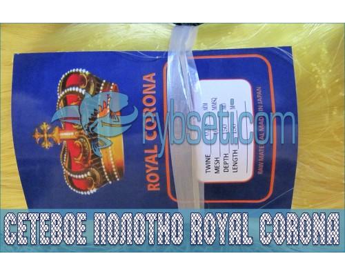 Монофиламентное сетеполотно Royal Corona 40мм-0,18мм-150я-150м