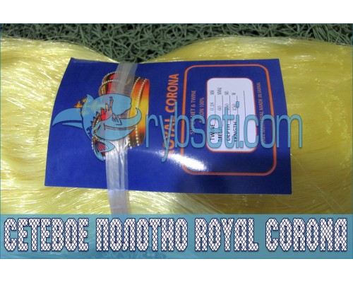 Монофиламентное сетеполотно Royal Corona 60мм-0,18мм-150я-150м