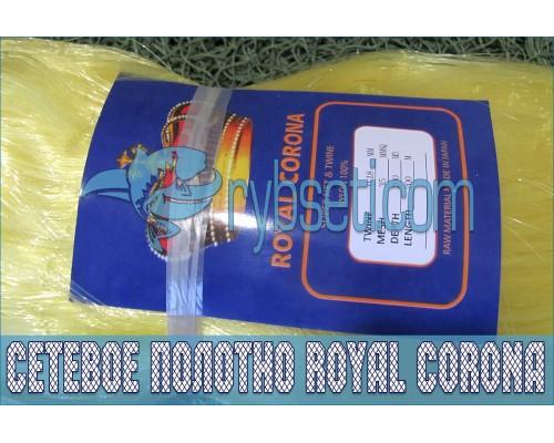 Монофиламентное сетеполотно Royal Corona 35мм-0,18мм-200я-200м