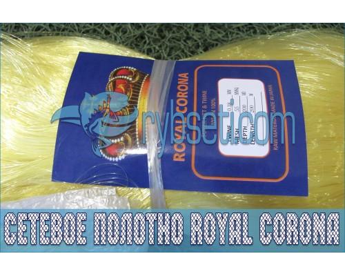 Монофиламентное сетеполотно Royal Corona 55мм-0,18мм-200я-200м