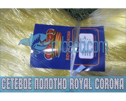 Мультимонофиламентное сетеполотно Royal Corona 110мм-0,20мм*3-75я-150м