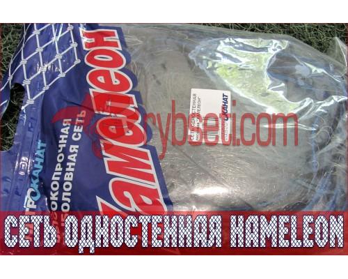 Сеть одностенная Хамелеон (Япония) из лески 60мм-0,20мм-1,8м-30м